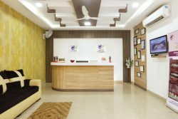 Wice institute reception in on of the dental care in coimbatore