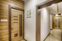 Entrance of the doctor's room of best dentist in coimbatore